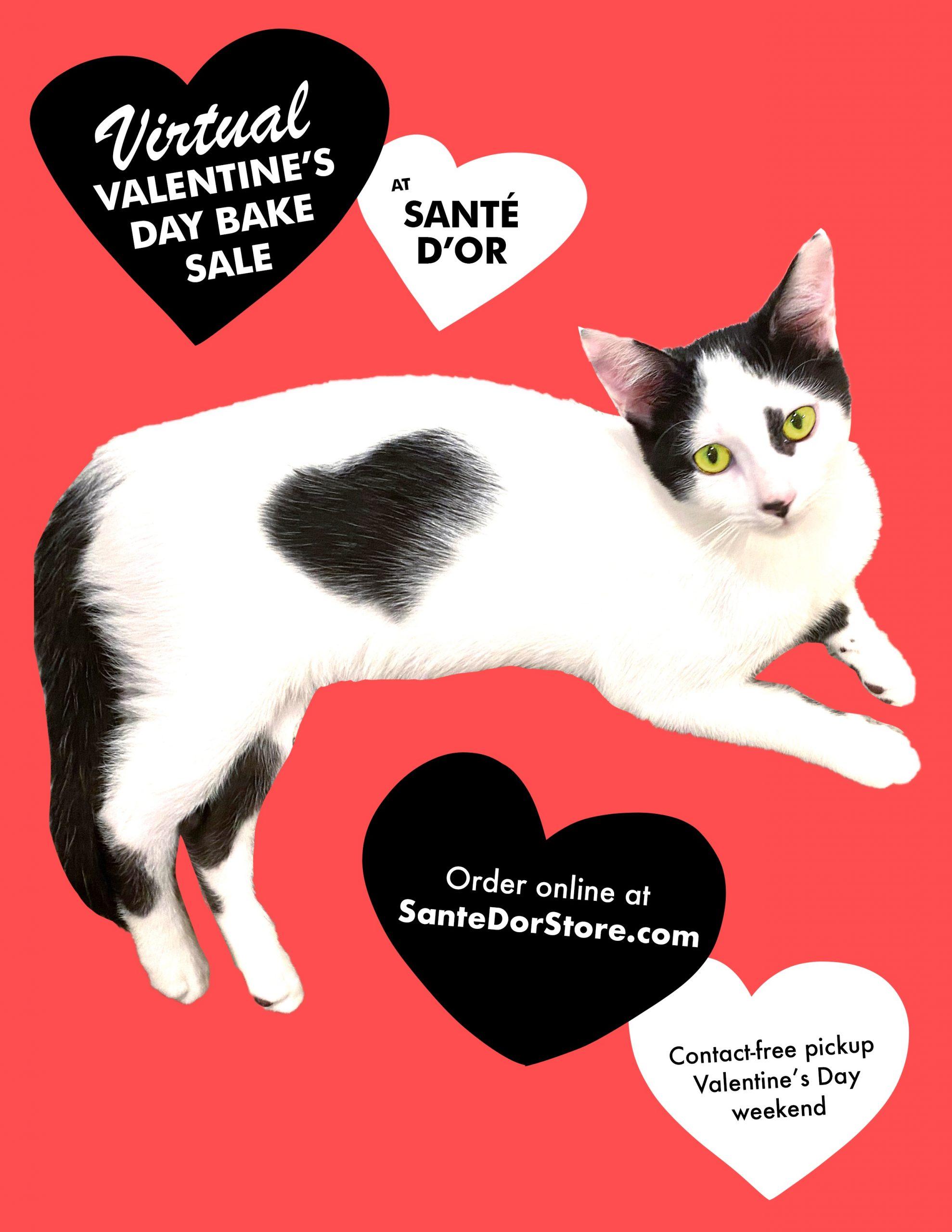 Virtual Valentine's Day Bake Sale