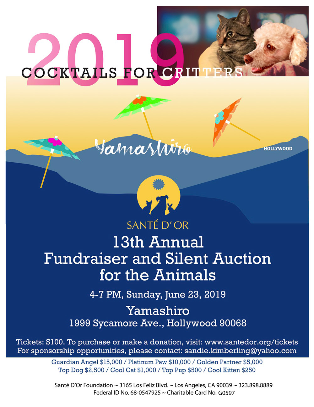 Cocktails for Critters 2019